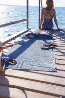 Bildnr.: 11510160<br/><b>Feature: 11510134 - Nimm&#39;s Denim!</b><br/>DIY, N&#228;hen und Deko mit Blue Jeans<br />living4media / Greenhaus Press