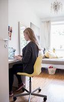 Bildnr.: 11512292<br/><b>Feature: 11512267 - Strandgutsammler</b><br/>Das Zuhause von Tina Firk in Hamburg ist inspiriert von Skandinavischen Str&#228;nden<br />living4media / Wentorf, Eckard