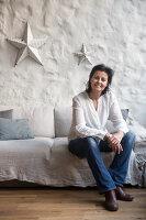 Bildnr.: 11515076<br/><b>Feature: 11515039 - Die alte Scheune</b><br/>Ein 400 Jahre altes Haus und seine Scheune wurden zum Vintage-Wohntraum, FR<br />living4media / Scoffoni, Anne-Catherine
