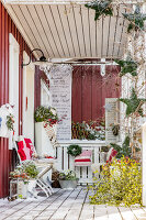 Bildno.: 11515632<br/><b>Feature: 11515614 - Decking the Halls</b><br/>How to create an inviting entry area for the holiday season<br />living4media / Bildh&#252;bsch