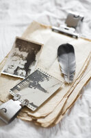 Bildno.: 11948020<br/><b>Feature: 11948017 - Vintage Spring</b><br/>Nostalgic project combining old photos and flowers<br />living4media / Koll, Alicja