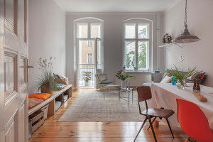 Bildno.: 11948742<br/><b>Feature: 11948740 - Small Budget - Big Effects</b><br/>Young and trendy apartment in Berlin<br />living4media / Scoffoni, Anne-Catherine