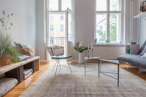 Bildno.: 11948746<br/><b>Feature: 11948740 - Small Budget - Big Effects</b><br/>Young and trendy apartment in Berlin<br />living4media / Scoffoni, Anne-Catherine