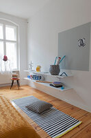 Bildno.: 11948792<br/><b>Feature: 11948740 - Small Budget - Big Effects</b><br/>Young and trendy apartment in Berlin<br />living4media / Scoffoni, Anne-Catherine