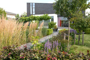 Bildno.: 11958296<br/><b>Feature: 11958263 - Self-designed Paradise</b><br/>The garden that created the home in Almere, Holland<br />living4media / Herwig, Modeste