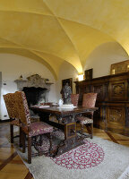 Bildno.: 11973250<br/><b>Feature: 11973220 - Noble Residence</b><br/>A &quot;Palazetto&quot; full of historic details in Piedmont, Italy<br />living4media / Maulini, Pier