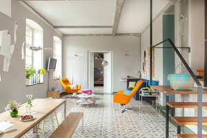 Bildno.: 11977486<br/><b>Feature: 11977480 - Slated for Success</b><br/>Renovation and transformation of a workshop into a home in Kaub, Germany<br />living4media / Scoffoni, Anne-Catherine