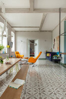 Bildno.: 11977488<br/><b>Feature: 11977480 - Slated for Success</b><br/>Renovation and transformation of a workshop into a home in Kaub, Germany<br />living4media / Scoffoni, Anne-Catherine