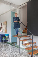 Bildno.: 11977490<br/><b>Feature: 11977480 - Slated for Success</b><br/>Renovation and transformation of a workshop into a home in Kaub, Germany<br />living4media / Scoffoni, Anne-Catherine