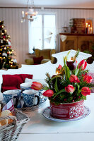Bildno.: 11990614<br/><b>Feature: 11990571 - Christmas up North</b><br/>Nostalgic house in Kvarnsvedjan, a small village outside Ume&#229;, North Sweden<br />living4media / Isaksson, Camilla