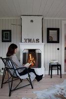 Bildno.: 11990698<br/><b>Feature: 11990664 - Christmas on the Family Farm</b><br/>Celebrating Christmas in Dalum, Sweden<br />living4media / Isaksson, Camilla