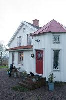 Bildno.: 11990712<br/><b>Feature: 11990664 - Christmas on the Family Farm</b><br/>Celebrating Christmas in Dalum, Sweden<br />living4media / Isaksson, Camilla
