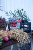 Bildno.: 11990716<br/><b>Feature: 11990664 - Christmas on the Family Farm</b><br/>Celebrating Christmas in Dalum, Sweden<br />living4media / Isaksson, Camilla