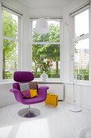Bildnr.: 11990732<br/><b>Feature: 11990718 - Pure Lebensfreude</b><br/>Bea und ihre Familie lieben es bunt. Viel Wei&#223; ist die perfekte Leinwand. Leuwarden, NL<br />living4media / Isaksson, Camilla