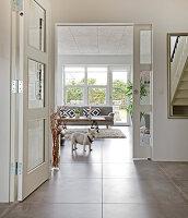 Bildno.: 12082844<br/><b>Feature: 12082842 - Re-inventing Style</b><br/>Newly built house overlooking Aarhus Bay, Denmark<br />living4media / Lene-K