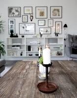 Bildno.: 12082858<br/><b>Feature: 12082842 - Re-inventing Style</b><br/>Newly built house overlooking Aarhus Bay, Denmark<br />living4media / Lene-K