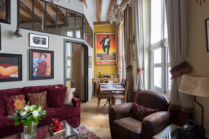 N° de l'image 12084344<br/><b>Reportage: 12084343 - French Cocooning</b><br/>Tiny apartment in Paris proves that style comes in all sizes<br />living4media / Hallot, Olivier
