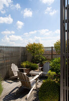 Bildno.: 12100954<br/><b>Feature: 12100951 - High Gardening</b><br/>Rooftop garden in Antwerp, Belgium<br />living4media / Obijn, Guy