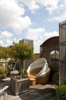 Bildno.: 12100956<br/><b>Feature: 12100951 - High Gardening</b><br/>Rooftop garden in Antwerp, Belgium<br />living4media / Obijn, Guy