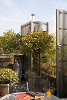 Bildno.: 12100982<br/><b>Feature: 12100951 - High Gardening</b><br/>Rooftop garden in Antwerp, Belgium<br />living4media / Obijn, Guy
