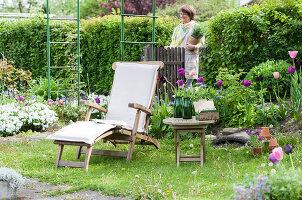 Bildno.: 12237142<br/><b>Feature: 12237139 - Bavarian Spring</b><br/>Allotment garden in Munich<br />living4media / Piru-Pictures