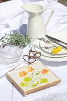 Bildno.: 12242570<br/><b>Feature: 12242556 - Decorative Herbs</b><br/>How to use herbs as a decorative accessory<br />living4media / Raider, Peter
