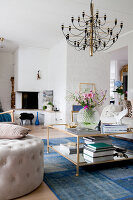 Bildno.: 12291770<br/><b>Feature: 12291704 - Frida&#39;s Magic Touch</b><br/>Family home in Uppsala, Sweden has a touch of luxury<br />living4media / Isaksson, Camilla