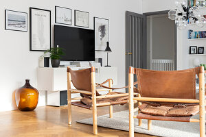 Bildno.: 12309026<br/><b>Feature: 12308982 - Stylish Space</b><br/>Renovated 1960s house near Stockholm, Sweden<br />living4media / M&#246;ller, Cecilia