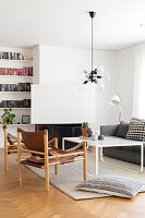 Bildno.: 12309056<br/><b>Feature: 12308982 - Stylish Space</b><br/>Renovated 1960s house near Stockholm, Sweden<br />living4media / M&#246;ller, Cecilia