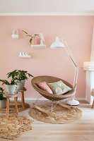 Bildno.: 12321692<br/><b>Feature: 12321691 - Paradise in Pastel</b><br/>Pale colours and soothing furnishings define this home in the Netherlands<br />living4media / Isaksson, Camilla