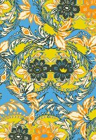 Intricate floral pattern (print)