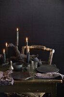 A Spooky Halloween Table Setting