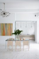 Modern Dining Room in a Miami Home