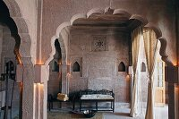 Spa area in Raas Haveli Hotel, Jodhpur, India
