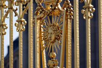 The Golden Gate at the Palace of Versailles
