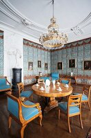 Schloss Corvey – the blue salon in the west wing