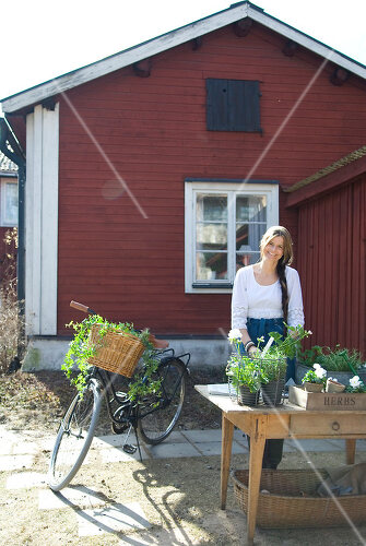 Rotes Schwedenhaus in Falun