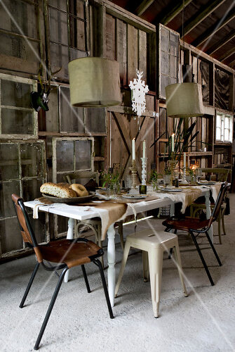 Barn party is a feast for all senses