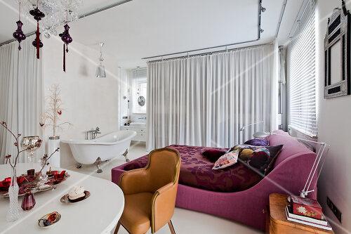 Designer's apartment in Warsaw