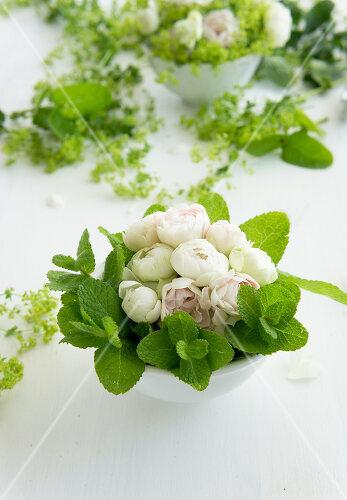 Delicate floral decoration
