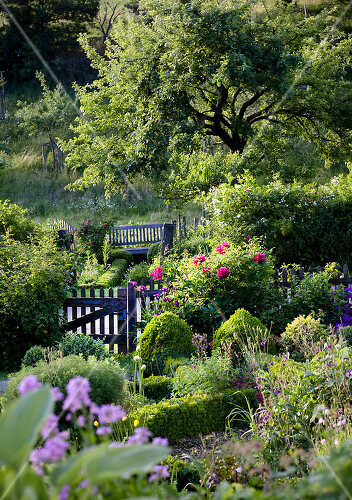 Franconian garden is a dream that took decades to realize