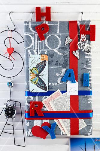 Mit Buchstaben dekorieren