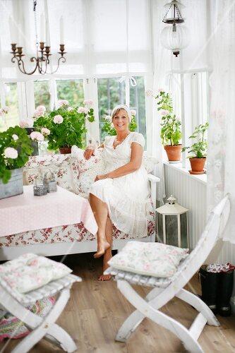 Nostalgic decor in a romantic house in Örnsköldsvik, Sweden