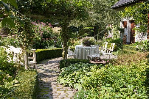 Traumgarten im Englischen Stil, Belgien