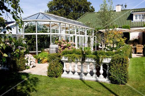 Castle-style garden near Copenhagen