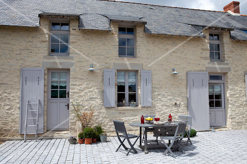 Finding and restoring a family house by the sea in Brittany, France