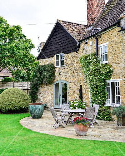 Im historischen Teil von Dorset liegt das liebevoll renovierte Haus mit Garten