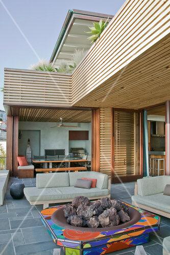 Artist and entrepreneur couple build a dream home in Laguna Beach, California