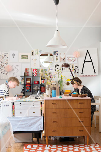 A Swedish illustrator's home