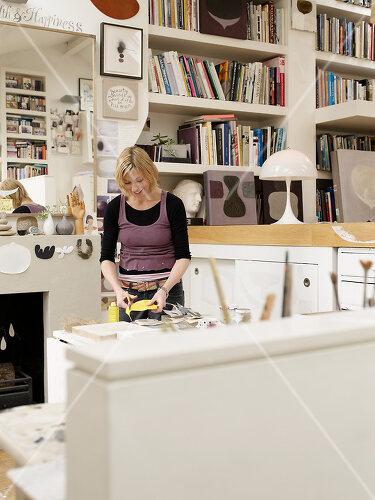 Nach zehn Jahren Gestaltung ist Künstlerin Sue mit ihrem Zuhause fertig, London